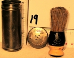 Ever Ready shaving brush with travel tube.