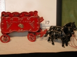 Cast Iron Overland Circus Carriage
