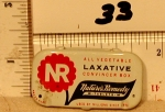 Medicine tin N R NATURES remedy Laxative