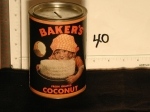 Bakers Coconut Can Bank bk40