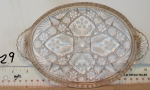 Pickle Tray (Cut Glass)
