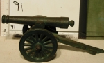 Cannon toy cast iron