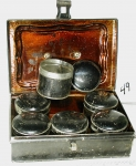 Tin Box with Spice Containers