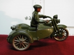 Harley Davidson Motorcycle With Sidecar (Cast Iron)