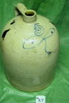 Stoneware Jug With Handle Five Gallon ck27
