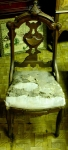 Victorian Accent/Slipper Chair