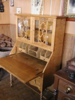 Oak Secretary/Bookcase